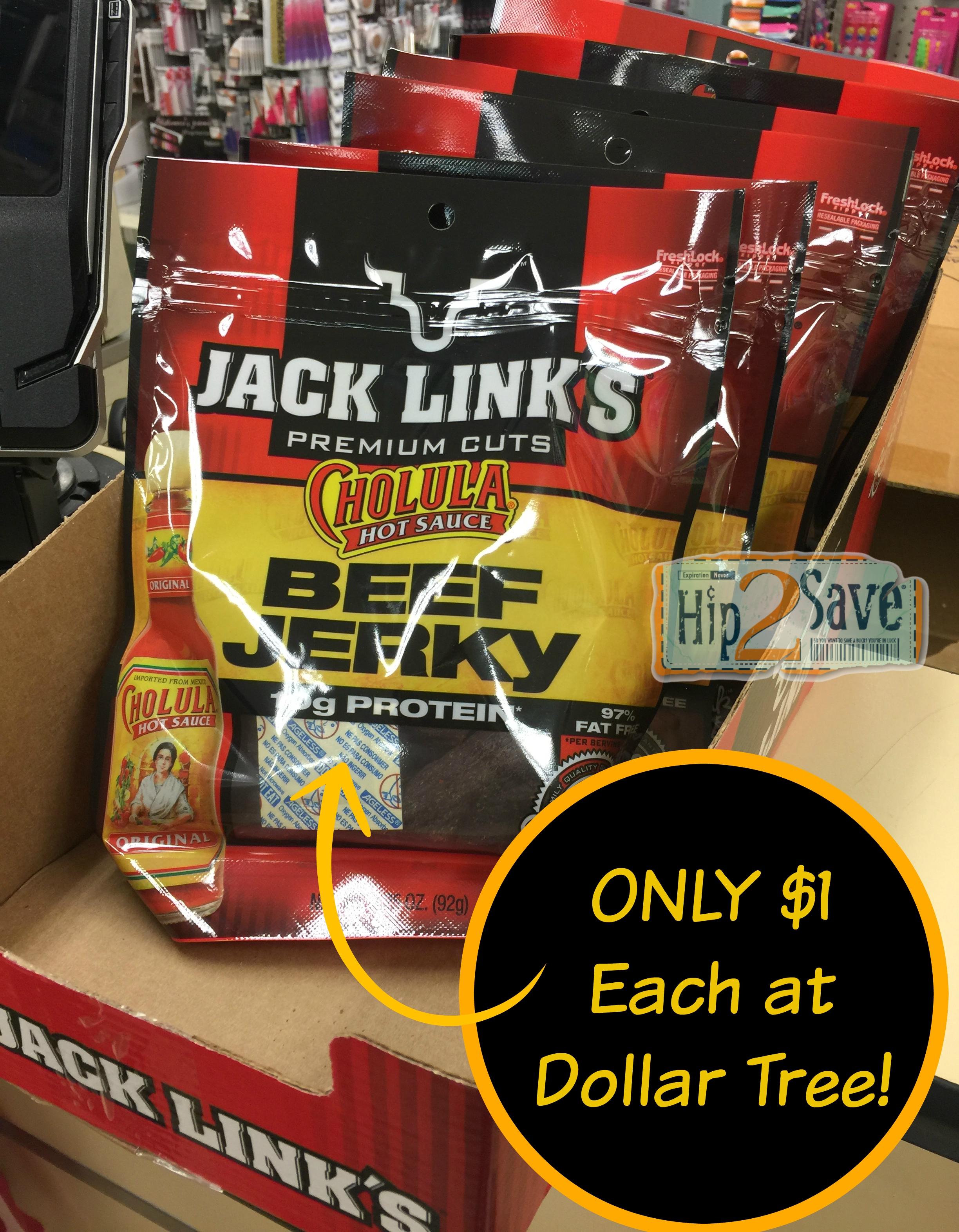 Dollar Tree: Jack Link's Jerky ONLY $1 Per Bag - Hip2Save