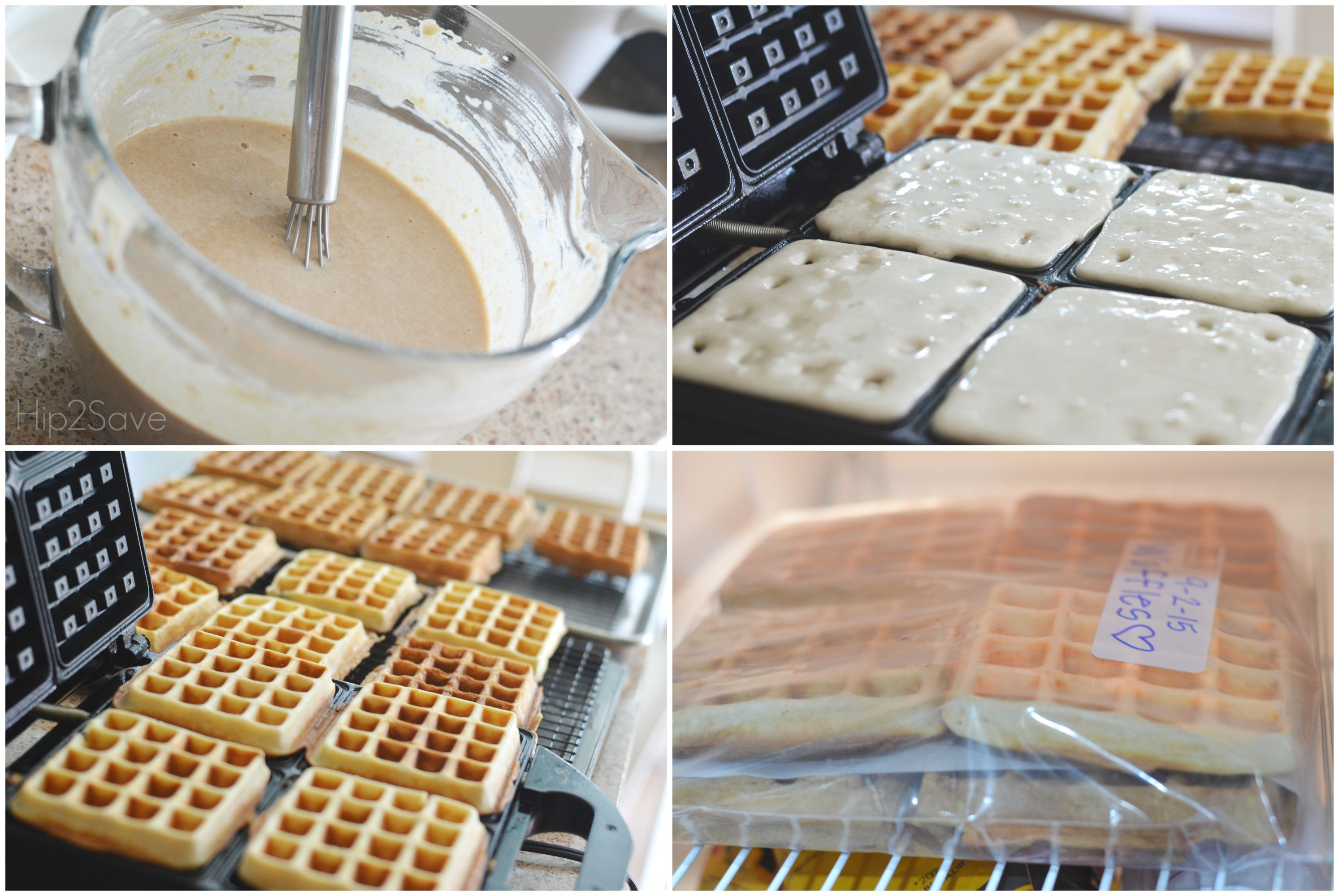 Make and Freeze Delicious Waffles for Easy Weekday Breakfasts Hip2Save