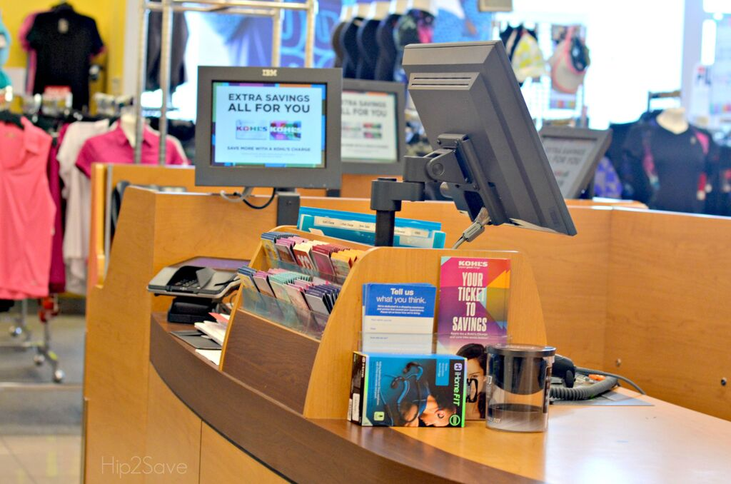 Make immediate payments on Kohl's charge card