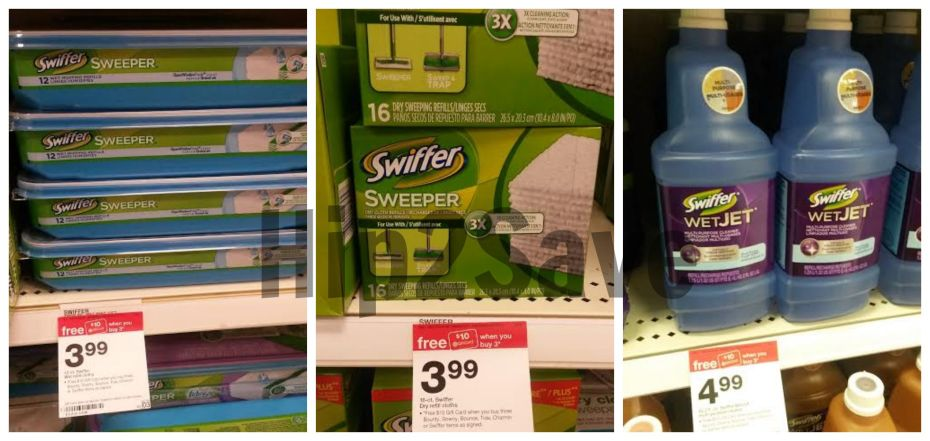 Target Swiffer Products