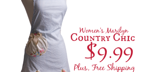 Marilyn Country Chic Apron ONLY $9.99 Shipped