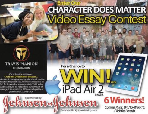 Johnson & Johnson Military Contest