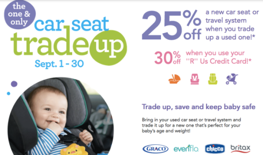 Babies R Us Car Seat Trade Up Event