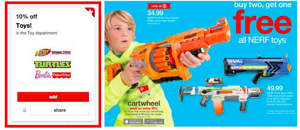 Nerf Sale at Target