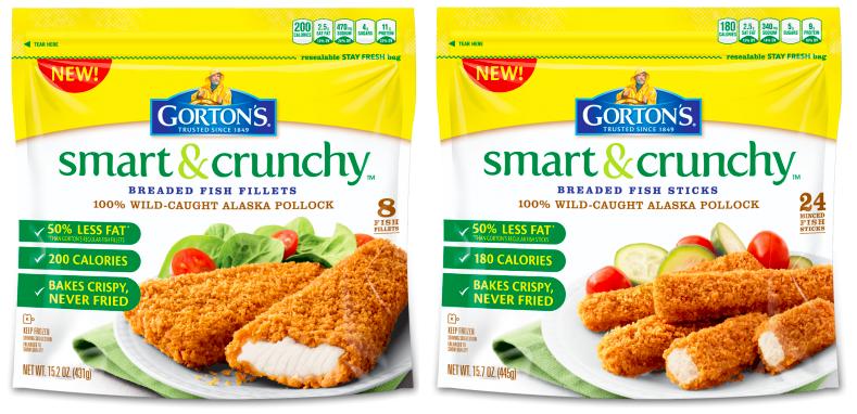 Gorton's Smart & Crunchy Fish Fillets and Sticks