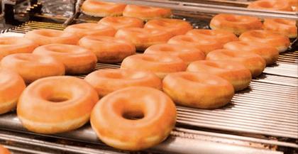 FREE dozen Original Glazed doughnuts