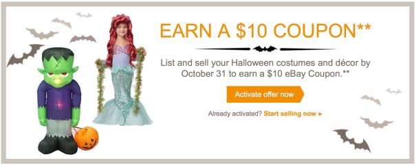 eBay Halloween Promotion