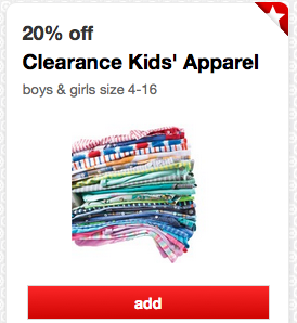 Clearance Kids' Apparel