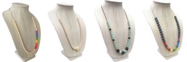 Willow + Mae Silicone Teething Necklaces