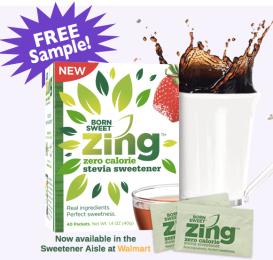 Zing Zero Calorie Sweetener Sample