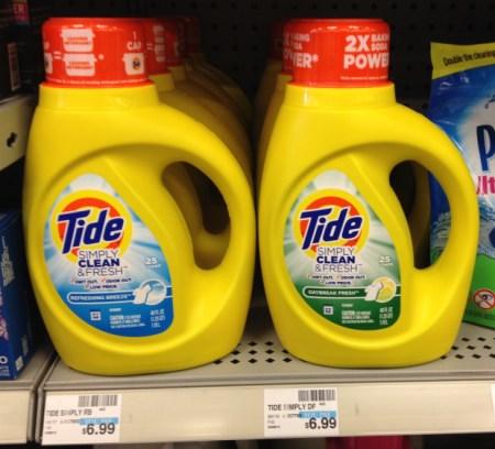 Tide Simply Clean & Fresh CVS