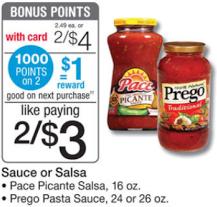 Sauce and Salsa