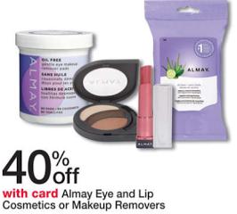 Almay cosmetics