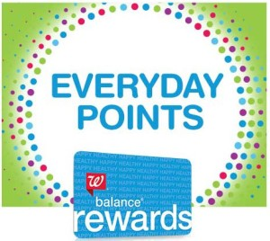 Walgreens Everyday points