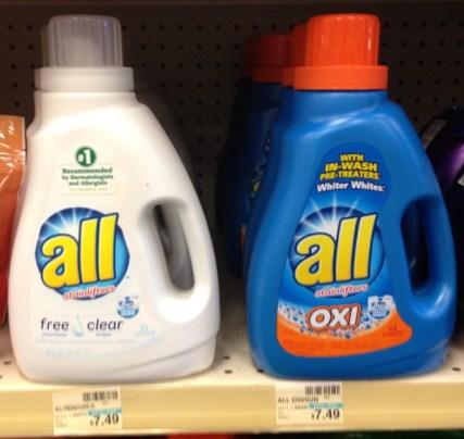 All Detergent CVS