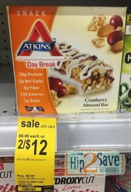 Atkins Snack Bars at Walgreens Hip2Save