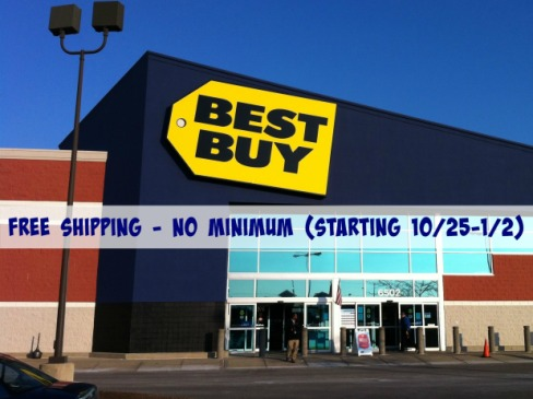BestBuy: FREE Shipping on EVERY Order Starts October 25th (+ Black