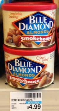 Blue Diamond Almonds 6 oz CVS.
