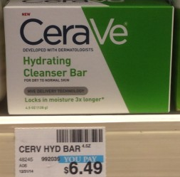 CeraVe Hydrating Bar CVS