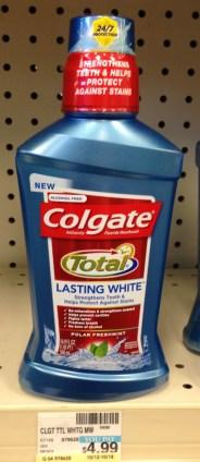 Colgate Total Mouthwash 500 ml. CVS