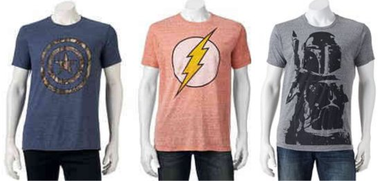 a258fbb6f Here's a nice deal on Men's Graphic Tees for Kohl's Cardholders! Head on  over to Kohl's.com where you can score FOUR Men's Graphic Tees for just $21  shipped ...