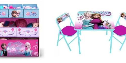 Walmart.com: Deep Discounts On Disney Frozen Storage, Table Sets, Bedding and More
