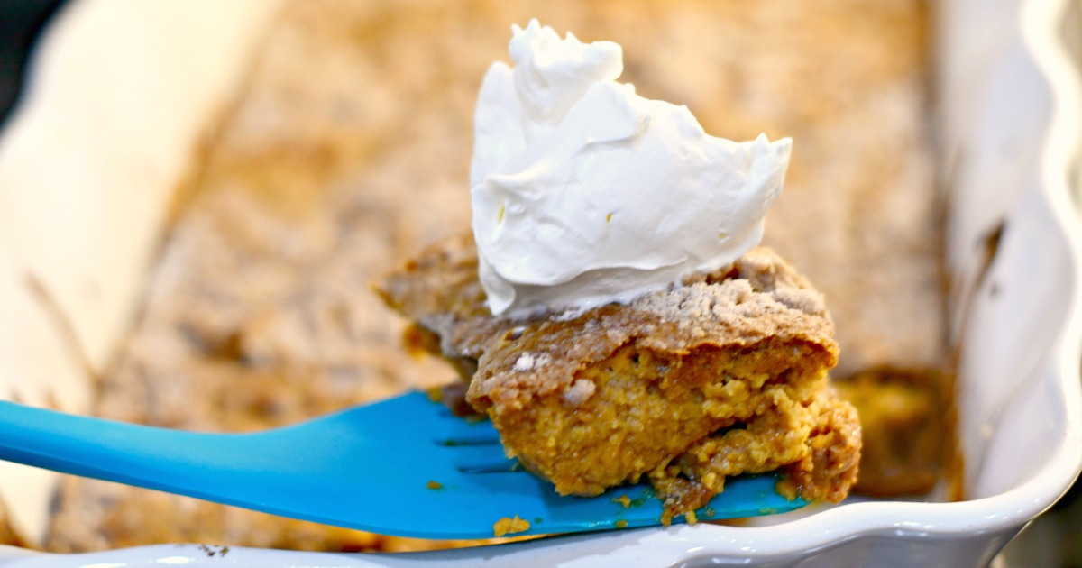 easy pumpkin dump cake