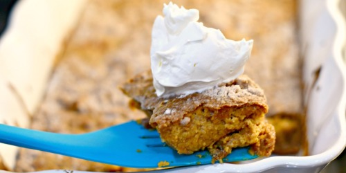 Pumpkin Dump Cake (Easy Dessert)