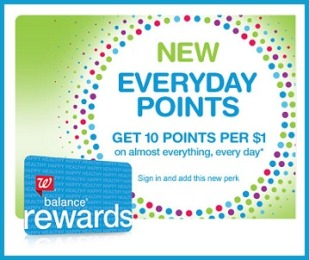 Everyday Points Walgreens