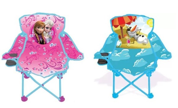 Frozen Fold 'N Go Chairs