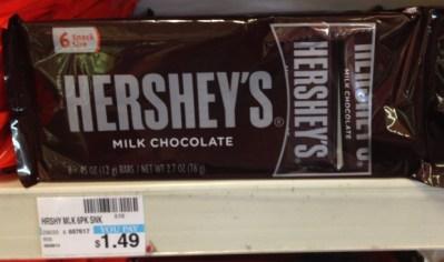 Hershey's Milk Chocolate Bars CVS