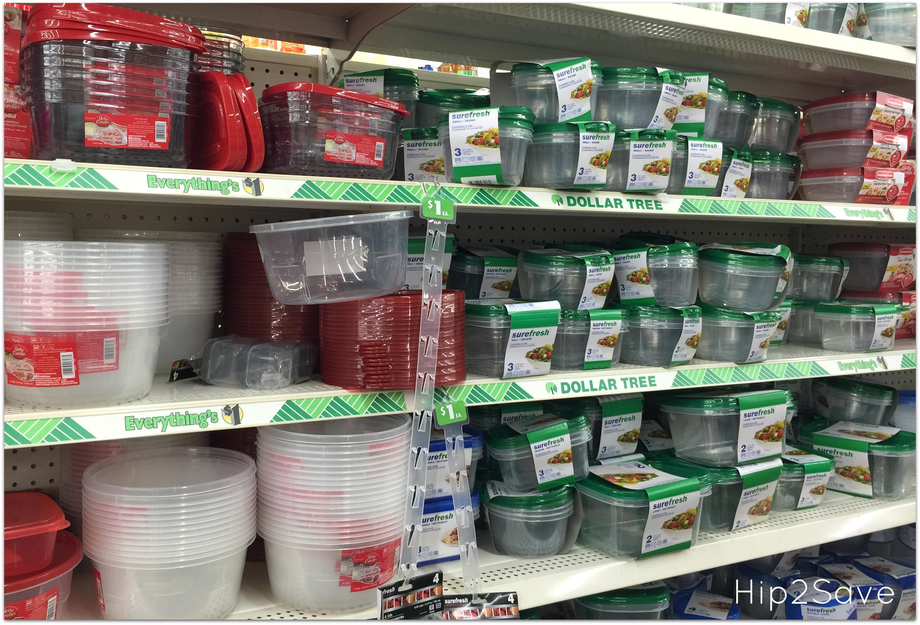 Dollar Tree Food Containers