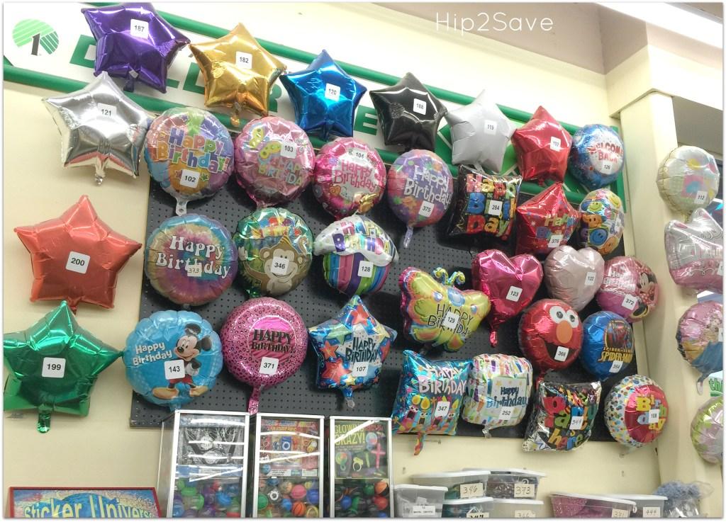 Dollar Tree Helium Balloons