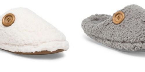 TJMaxx.com: Plush Slippers Only $9.99 Shipped (Regularly $20) + More