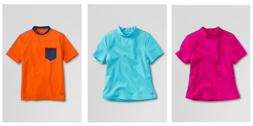 Lands' End: Free Shipping On ANY Order (Ends Tonight) = Kids Rash Guards as Low as $5.99 Shipped