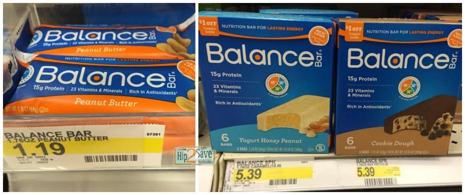 Target Balance Bars