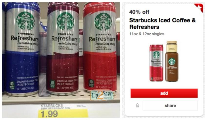 Target Starbucks Refreshers