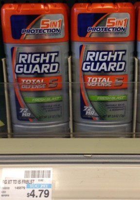Right Guard CVS