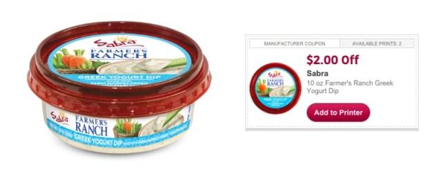 Sabra Farmer's Ranch Greek Yogurt Dip