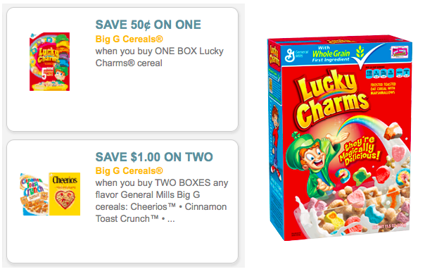 new general mills cereal printable coupons  make for cheap