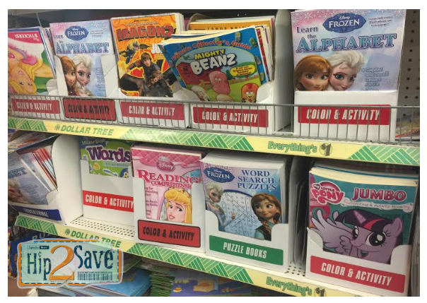 Dollar Tree Kids' Activity books