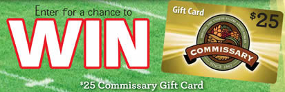 Military: Enter to Win Commissary Card