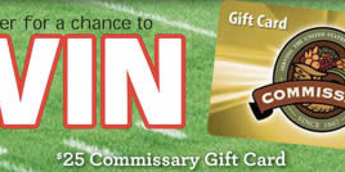 Military: Enter to Win Commissary Card, iPad Air 2 & More (+ Check Out October's Commissary Deals)