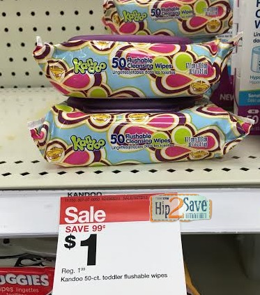 Target Kandoo Wipes