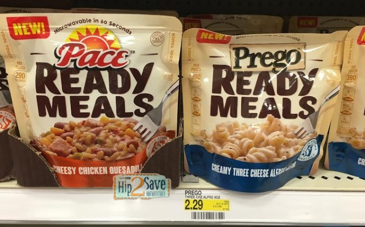 Prego or Pace Ready Meals