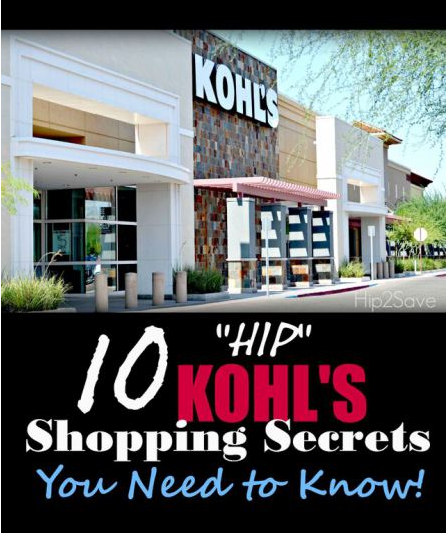 10 'Hip' Kohl's Shopping Secrets Hip2Save