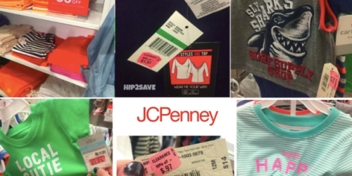 JCPenney: New $10 Off $25 In Store and Online Coupon + Clearance Items Up to 90% Off