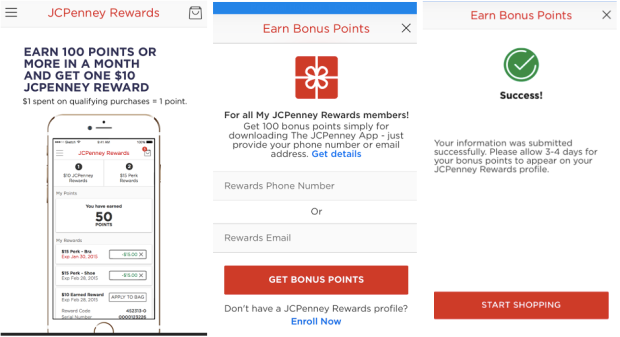 Free $10 JCPenney Credit