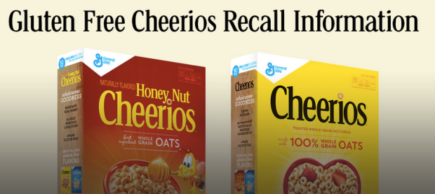 Are YOU Gluten-Free? General Mills is Voluntarily Recalling