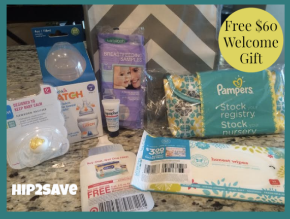 FREE Target Baby Registry Welcome Gift